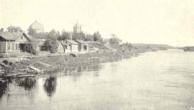 Jääski_churchvillage_in_Karelia